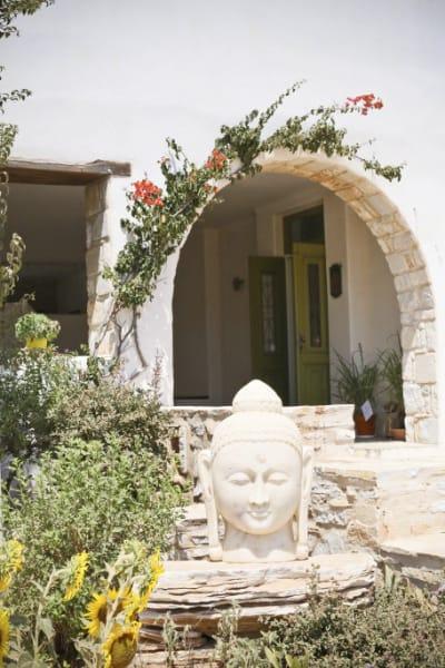 Tao's Center, Paros island (Cyclades), Greece