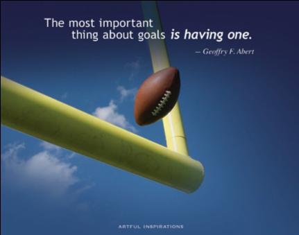 Success Step 1: Set A Goal